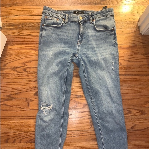 ZARA skinny ankle jeans size 10